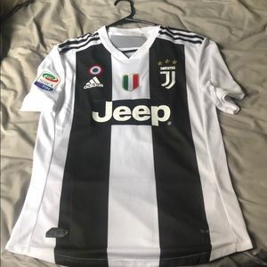 Cristiano Ronaldo authentic Juventus home jersey